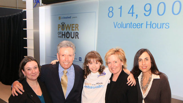 Corporate giants and members of the Power of the Hour initiative