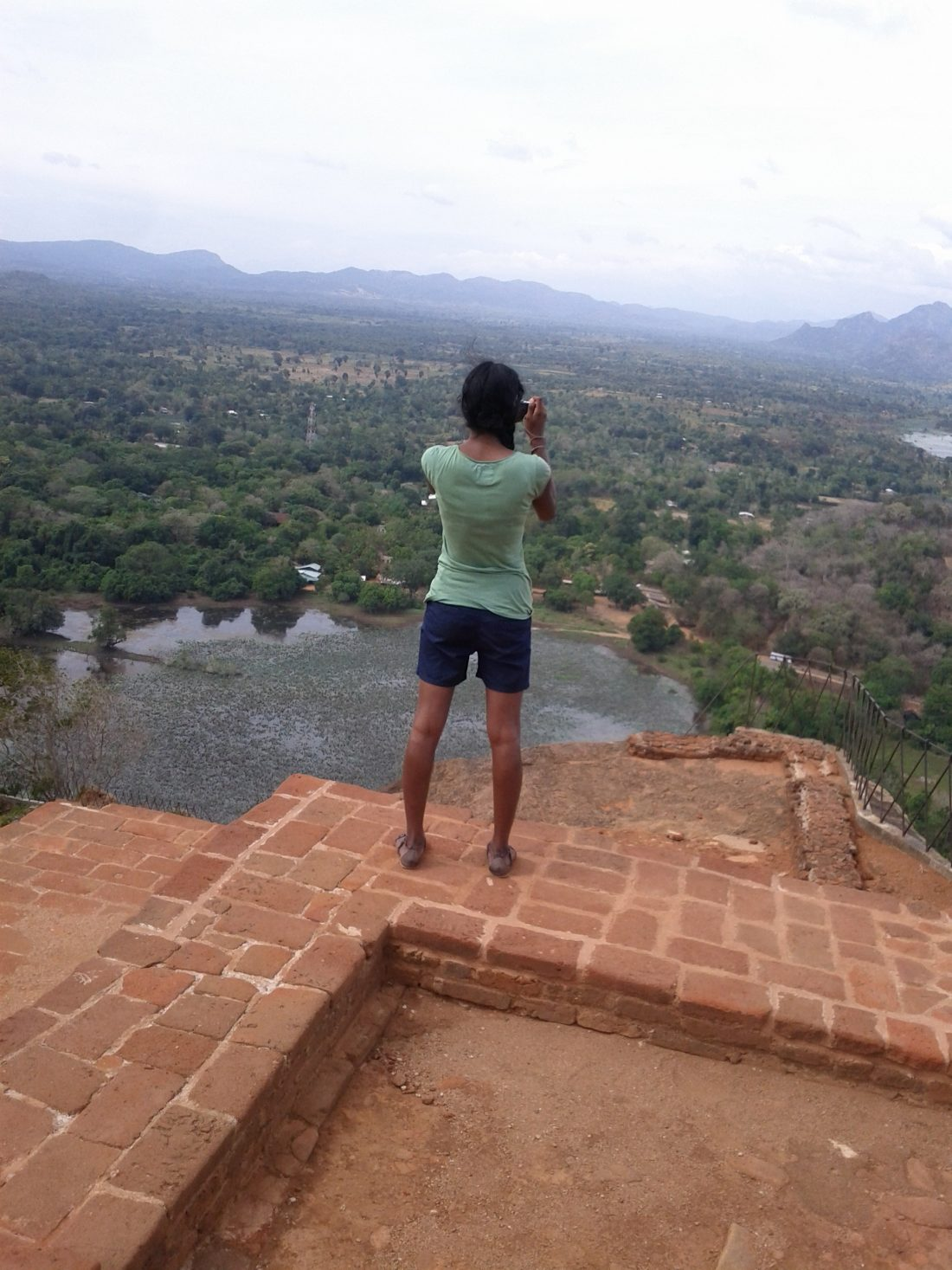 May atop Sigiriya in Sri Lanka