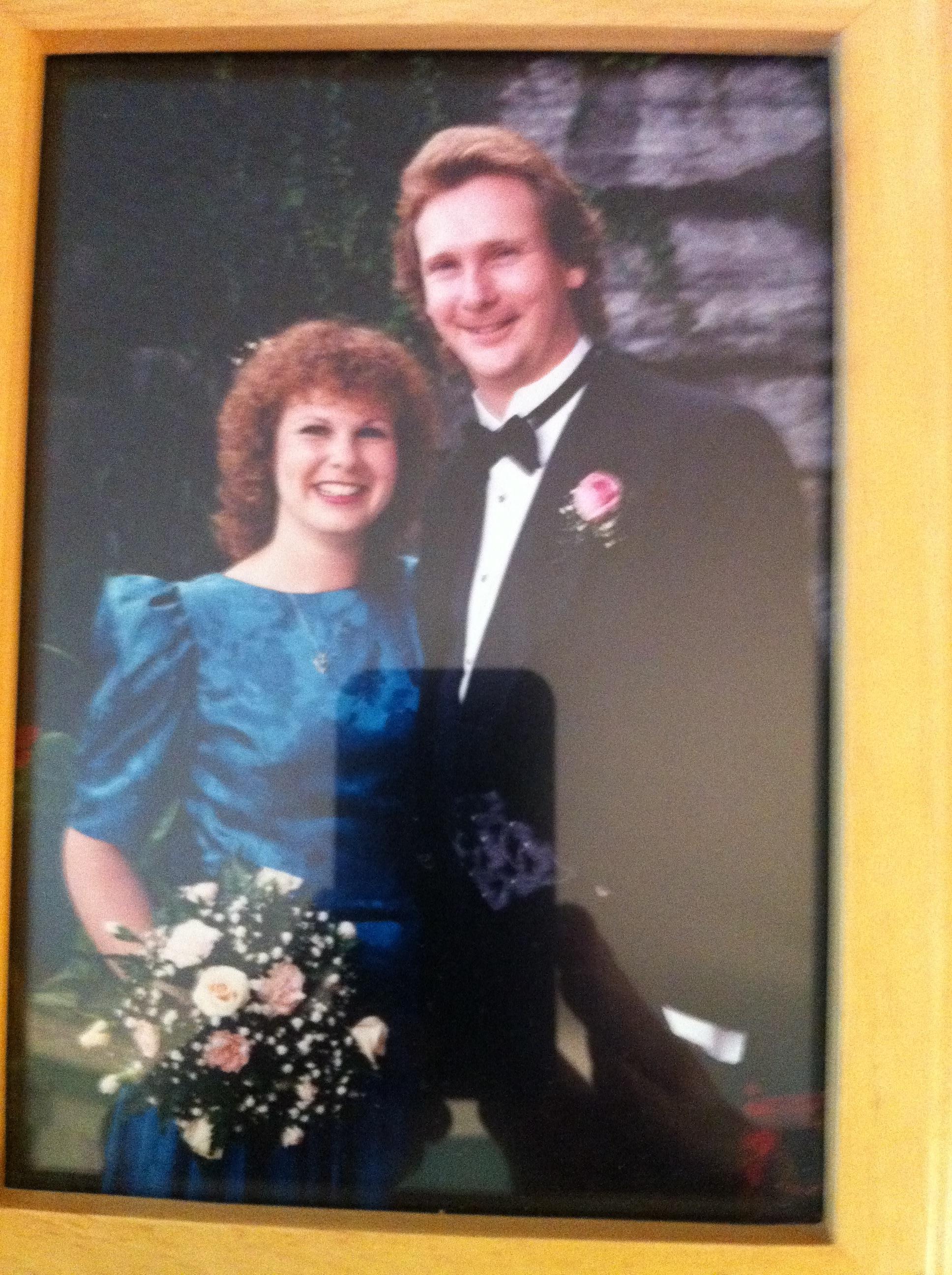 Steve Lang at his wedding