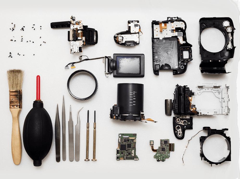 A deconstructed camera